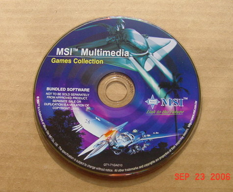 MSI Multimedia Games Collection