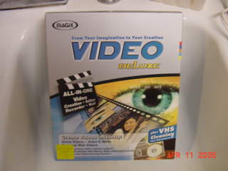Magix Video Deluxe plus VHS