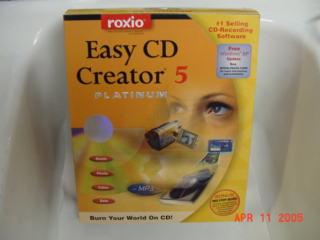 Roxio Easy CD Creator 5