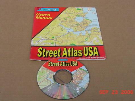 DeLorme Street Atlas USA v3.0