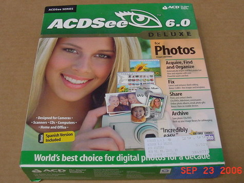 ACDSee 6.0 Deluxe (English & Spanish)