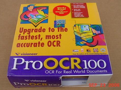Visioneer Pro OCR100 v1.01