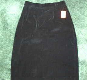 J Ashford Velvet Skirt