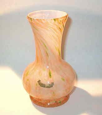 Slag Vase
