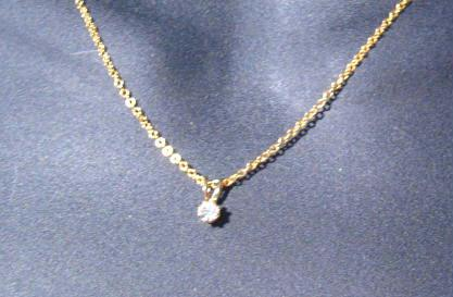 Cache Faux Diamond Necklace