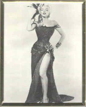Marilyn Monroe Silver Frame