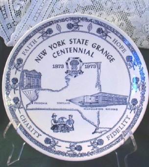 NY State Grange Plate