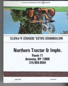 Northern Tractor Matchbook