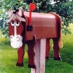 horse mailbox
