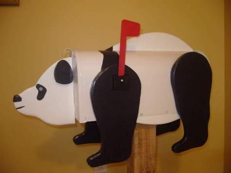 panda mailbox