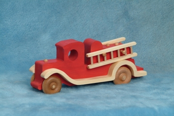 Old Time Firetruck (Red)