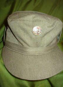Germann style military hat