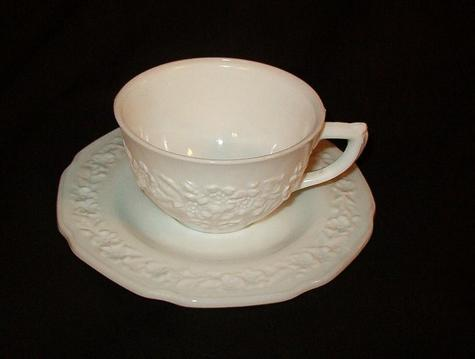 Indiana Cup and Saucer