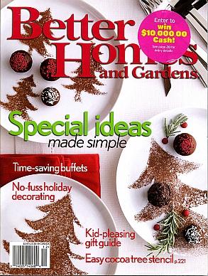 Better Homes & Gardens Dec. 2005
