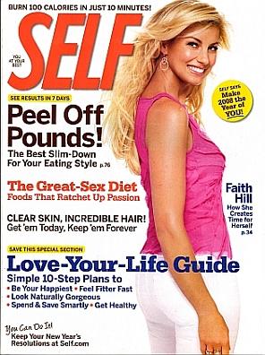 Self magazine January 2008