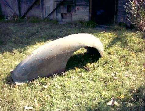 36-37 Buick front fender