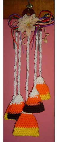 candy corn hanging