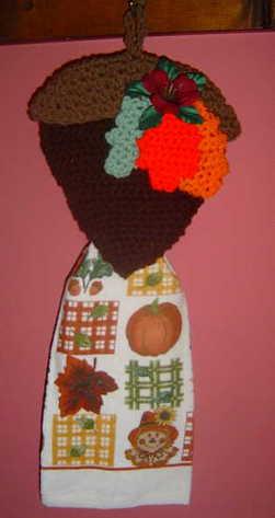 acorn towelholder