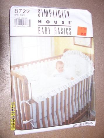 Baby Cradle Patterns - Free Pattern Cross Stitch