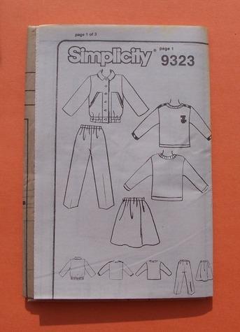 simplicity 9323