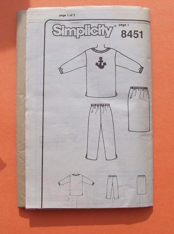simplicity 8451