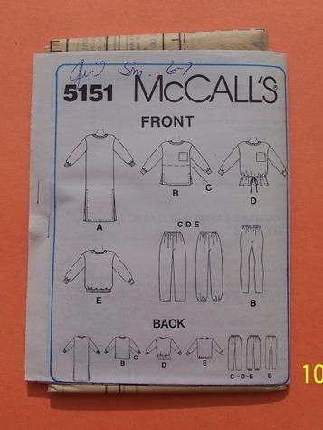 mccalls 5151