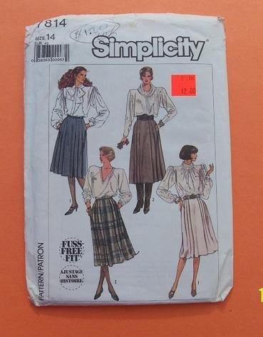 simplicity 7814
