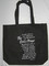 Lords Prayer religious black canvas bag