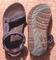 Kids size 3K teva hurricane sandals * blue/black