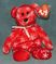 TY Beanie Baby Snowbelles Red Bear (Rare) 2006 Retired Free Ship
