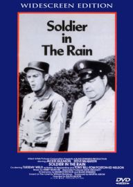 Soldier in the Rain McQueen and Gleason Rare Drama Comedy!