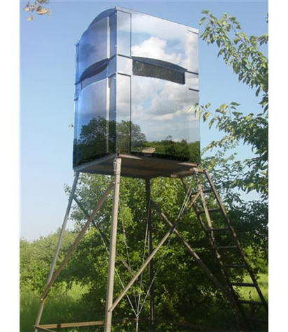 Build Your Own Mirror Deer Blind Shooting House Hunting