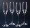 Lenox Tuscany Classics Crystal Champagne Flutes - Set of 4