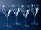 Crystal Wine Goblets - 4 - Graceful Shape, Versatile Style