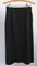 Straight Pencil Skirt in Black Herringbone - Ellen Tracy - USA