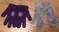 Gymboree grey mittens M-L 3-5 yrs + Disney Pooh Purple gloves