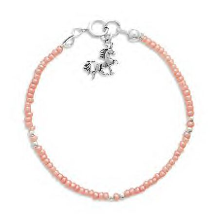 Bracelet With Genuine .925 Unicorn Charm!