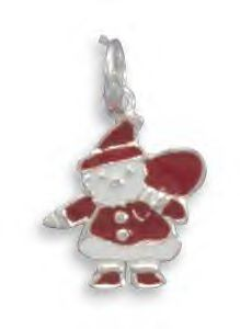 Celebrate Santa's Arrival With This Charm!