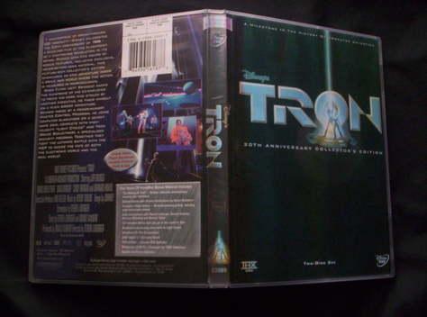 TRON 1982 -20TH ANNIVERSARY EDITON DVD TWO DISC SET