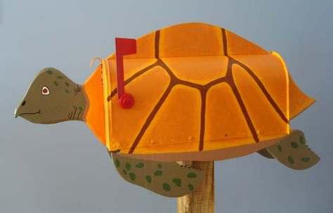turtle mailbox