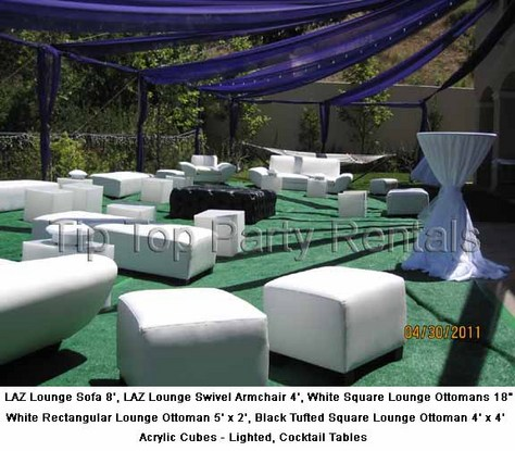 Lounge Furniture Rentals Los Angeles