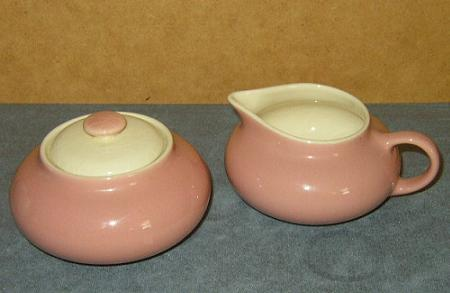 Vintage, Cream & Sugar Bowl Set