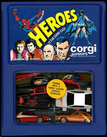 Corgi Jr Heroes case