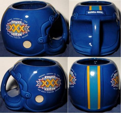 Super Bowl XXX mug