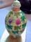 Famille Rose Porcelain Snuff Bottle, Shenditang Mark