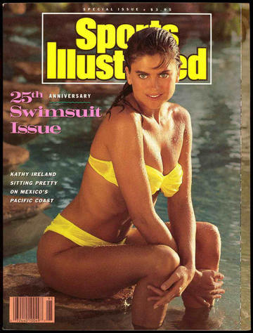 Sports Illustrated 25th swimsuit issue