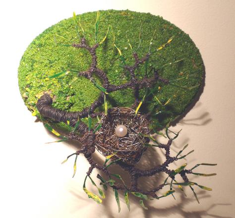 Bird Nest No.6   - Wire Sculpture