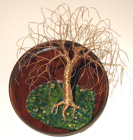 Willow on Round Base