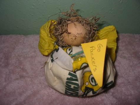 Packer Doll Front View