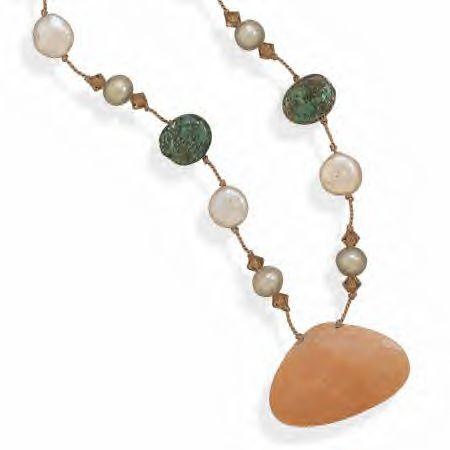 This Necklace Features Genuine Jasper!
